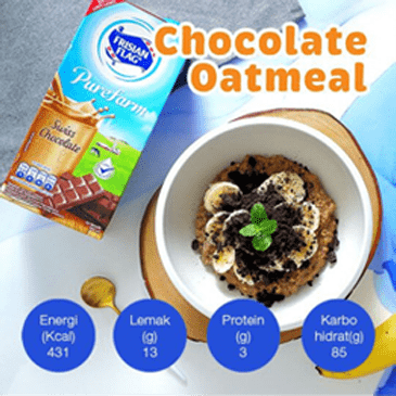 Resep Chocolate Oatmeal