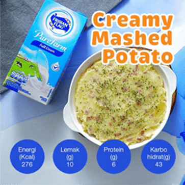 Resep Creamy Mashed Potato