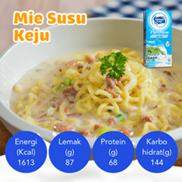 Resep Mie Susu Keju